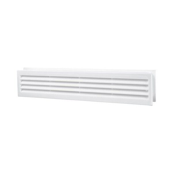 Bathroom Door Air Vent Grille 450mm X 92mm Two Sided