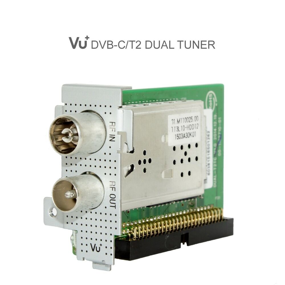 vu hybrid dual dvb t2 t c tuner module solo se v2 4k uno. Black Bedroom Furniture Sets. Home Design Ideas