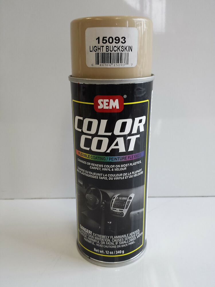 Sem Light Buckskin 15093 Color Coat Vinyl Carpet Auto Body Restoration Car Paint Ebay