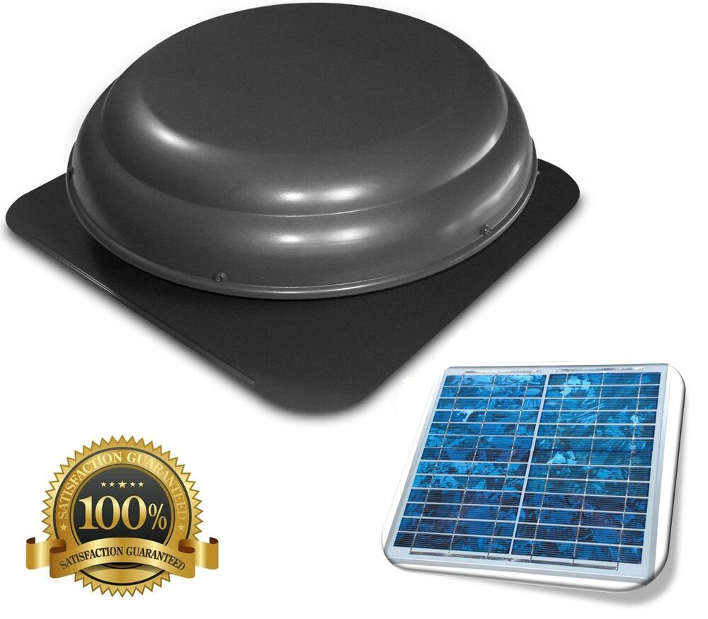 Solar Powered Attic Fan Exhaust Fan Vent Fan Ebay