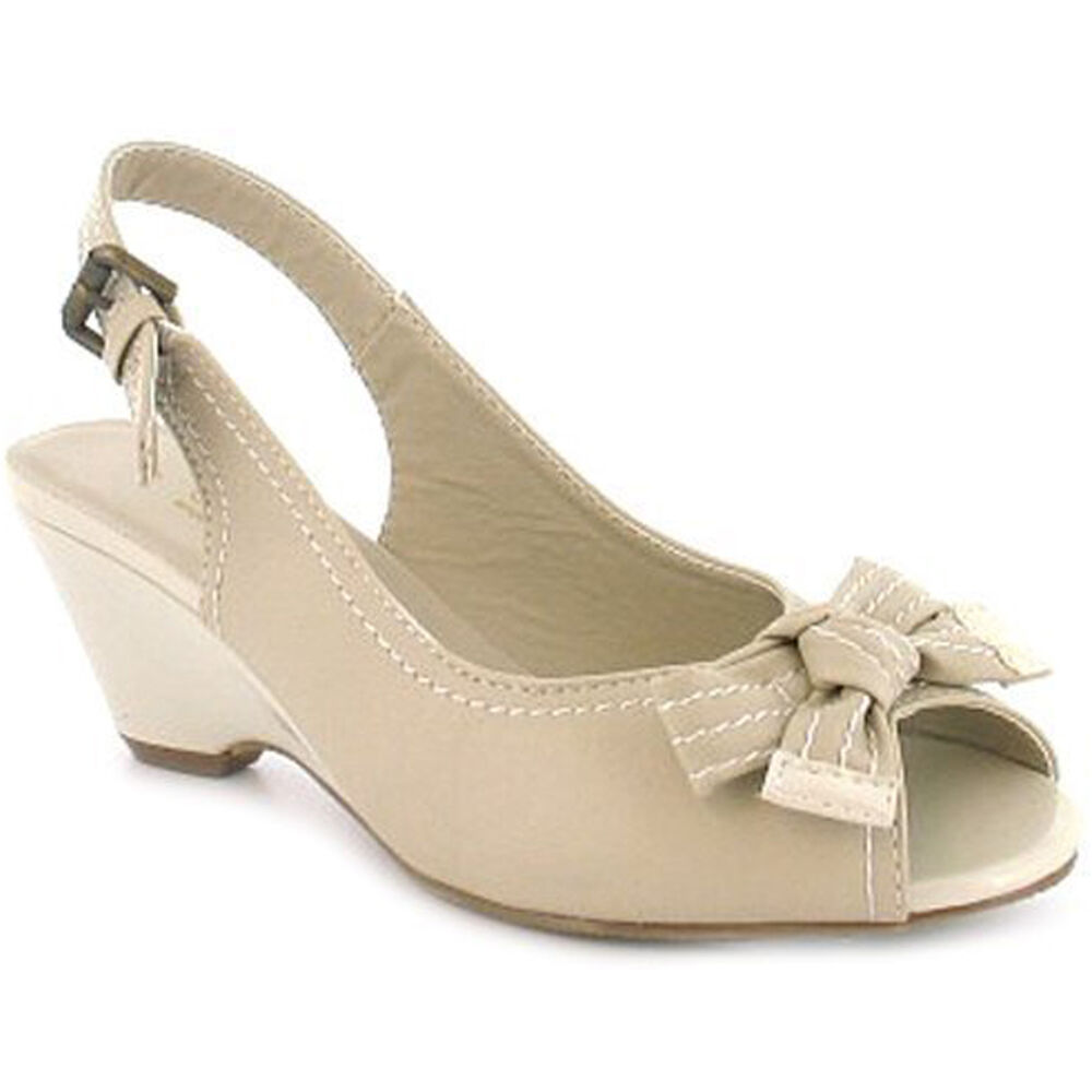 Womens Wide Wedge Shoes