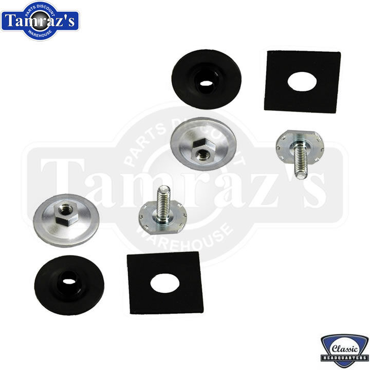 Glass Attachment Hardware : F body door glass window to track mounting hardware
