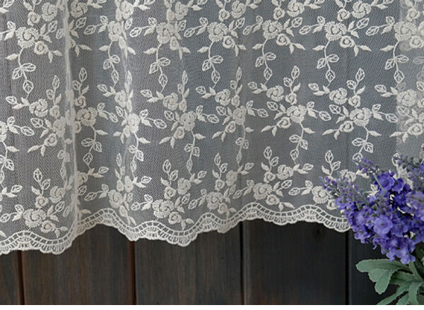 Y embroidery eyelet mesh lace fabric ivory cm quot