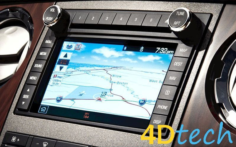 factory ford 2008 super duty f250 f350 oem gps navigation. Black Bedroom Furniture Sets. Home Design Ideas