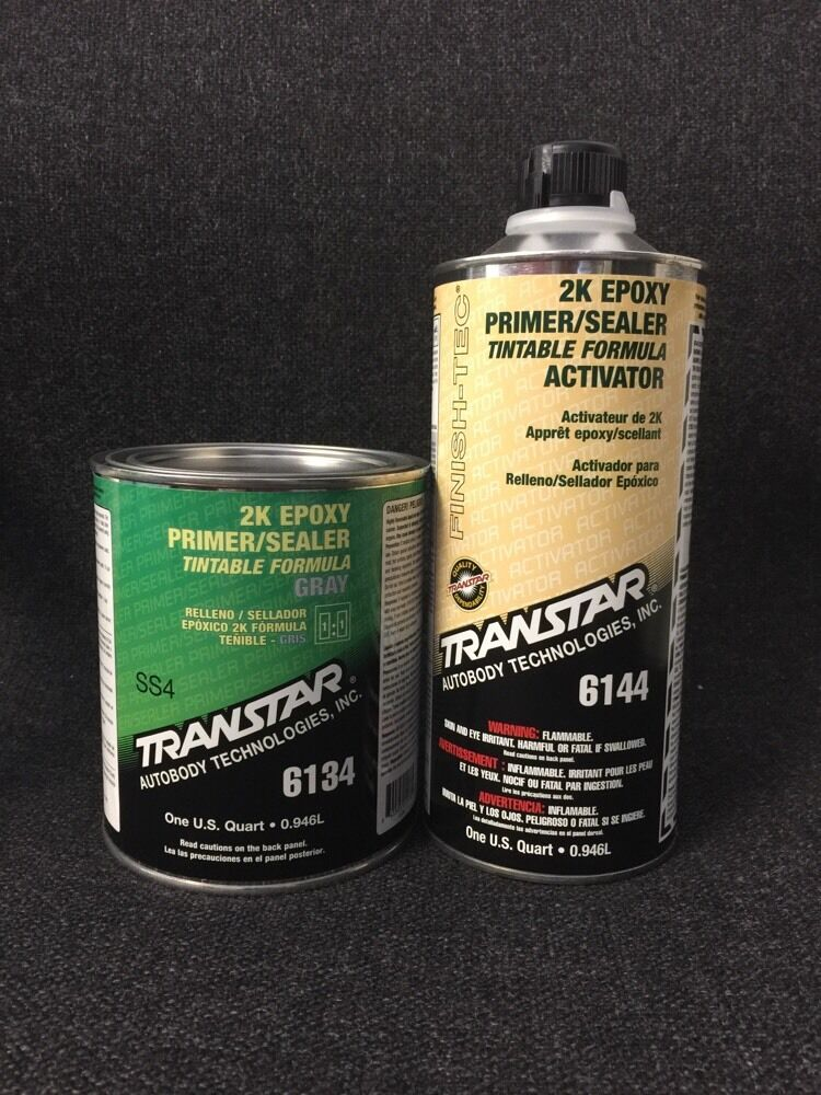 transtar 2k epoxy primer sealer gray tra 6134 6144. Black Bedroom Furniture Sets. Home Design Ideas