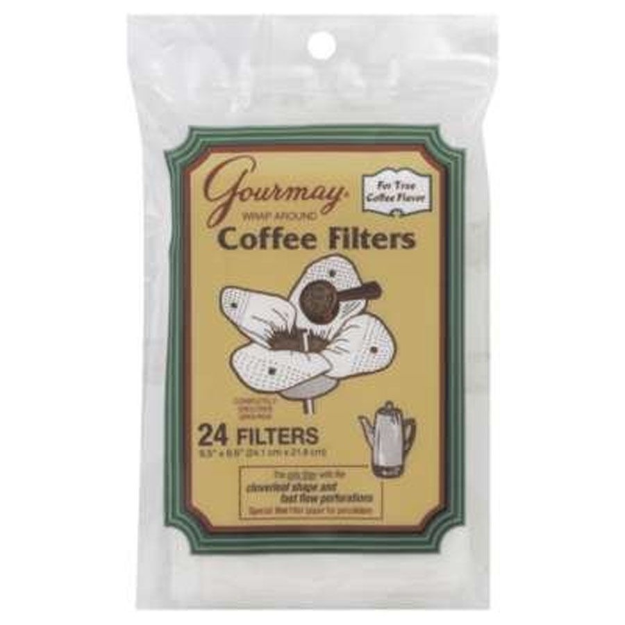 Gourmay Wrap Around Coffee Filter for Percolator package of 24 filters eBay