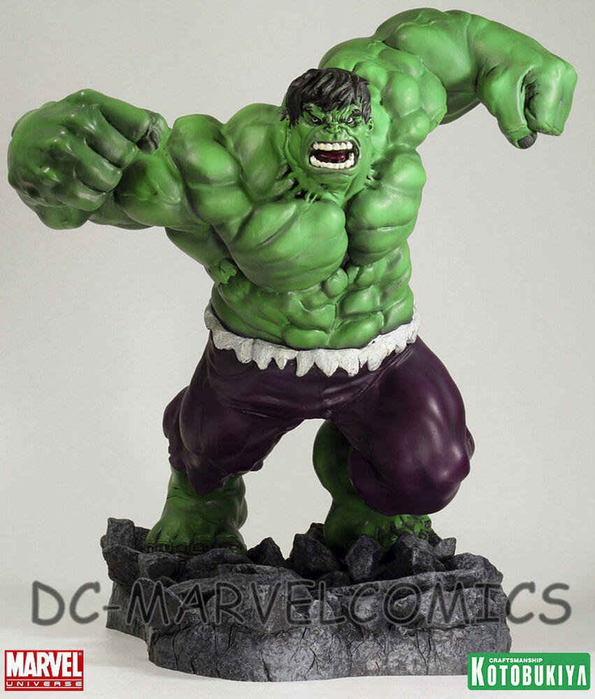 KOTOBUKIYA HULK FALL OF THE HULKS STATUE Green Version
