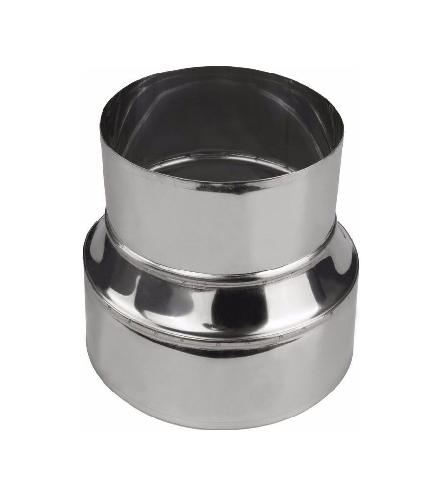 Chimney Flue Liner Metal Reducer Ducting Stainless Steel
