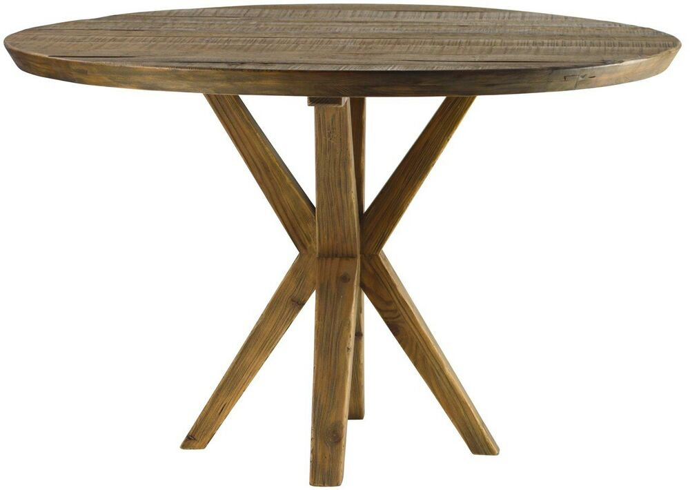 48 quot round dining table reclaim elm wood smooth distress