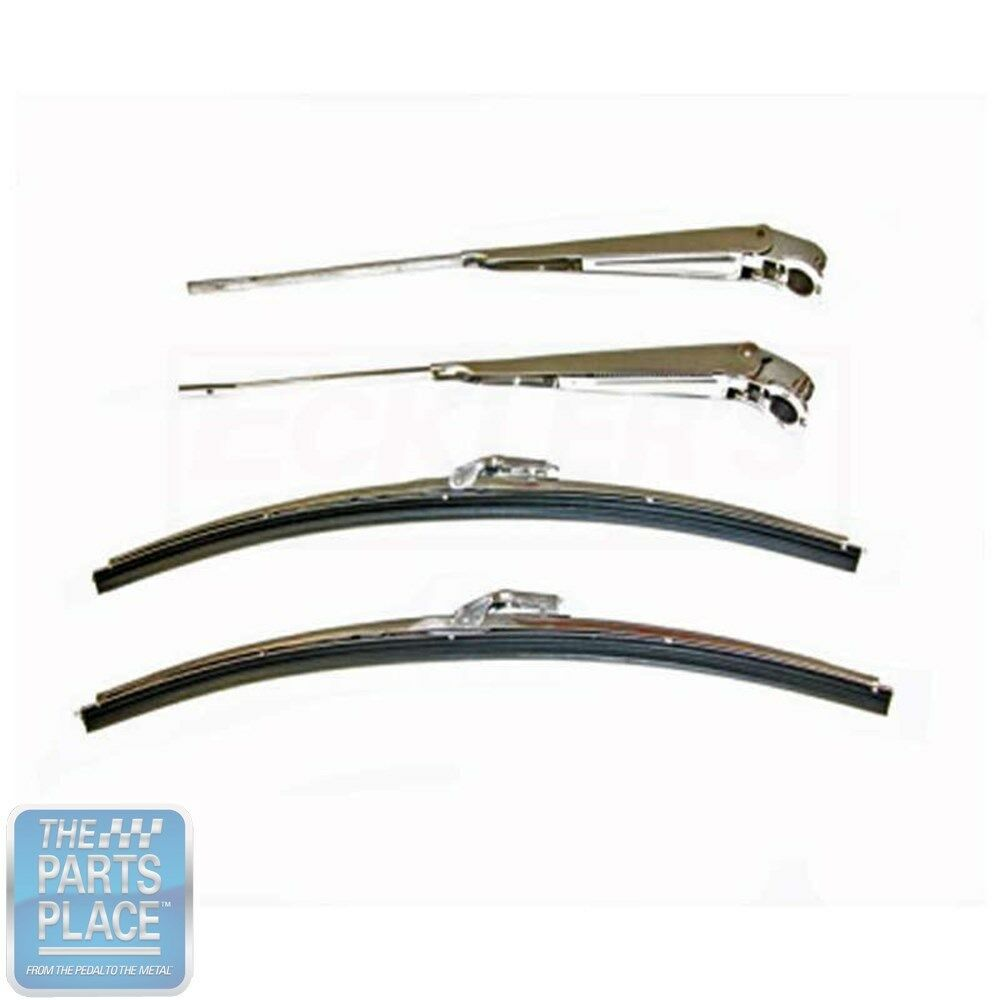 1964 67 Gm Cars Wiper Arm Blade Set 4 Pieces Ebay