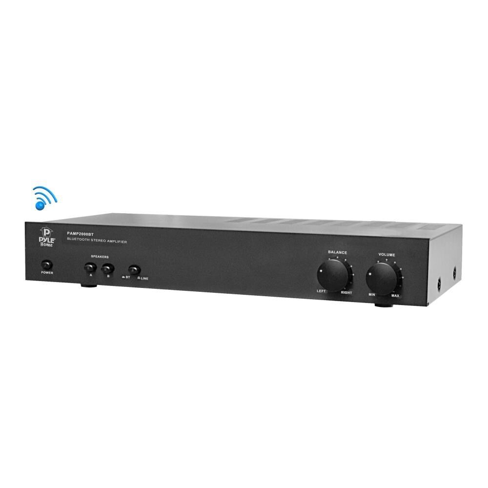 bluetooth 2 ch 200w home theater system stereo speaker amp amplifier receiver ebay. Black Bedroom Furniture Sets. Home Design Ideas