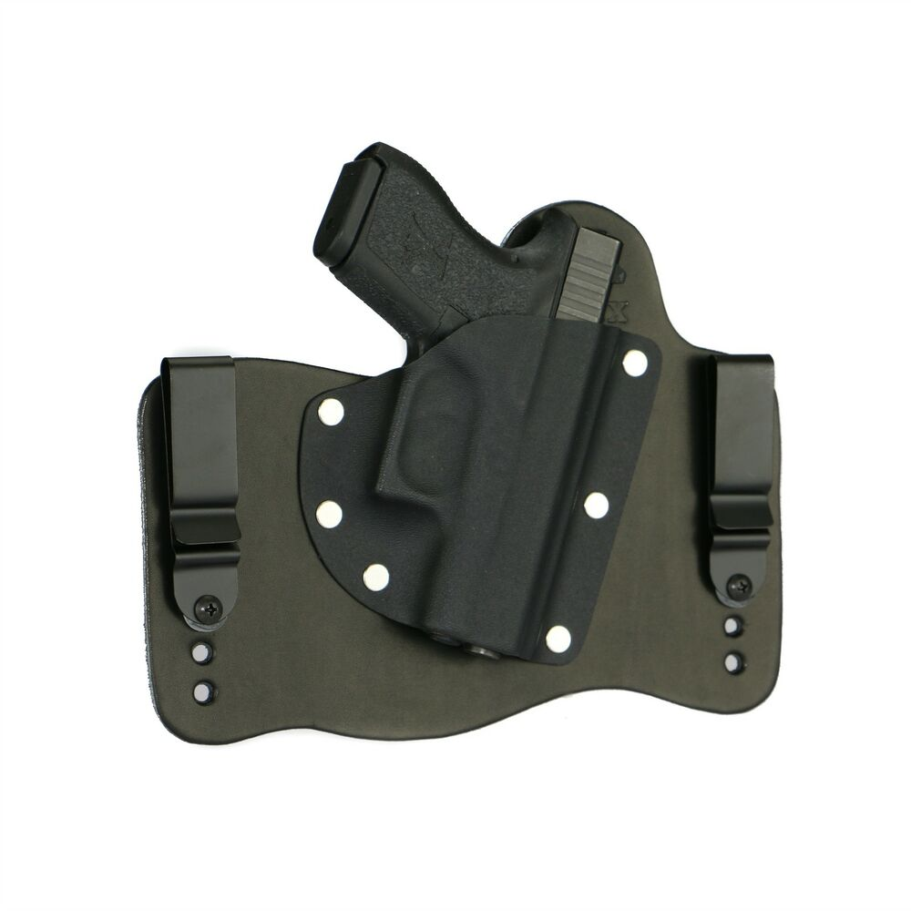 how to use iwb holster