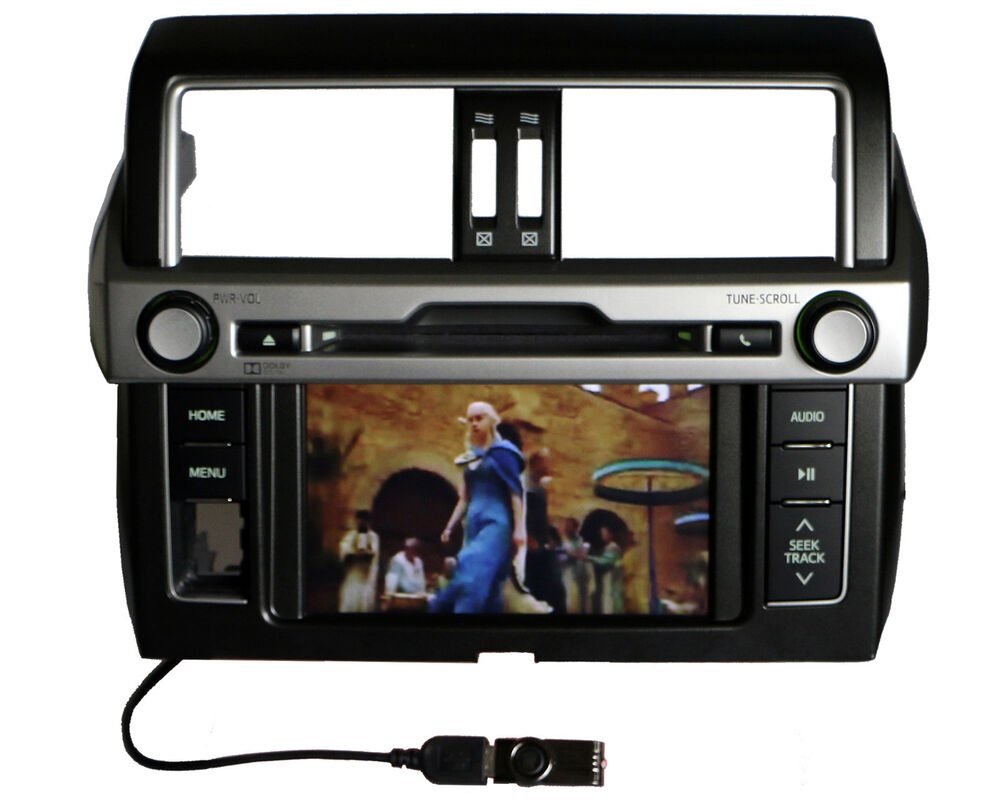 toyota land cruiser prado radio dvd player bluetooth. Black Bedroom Furniture Sets. Home Design Ideas