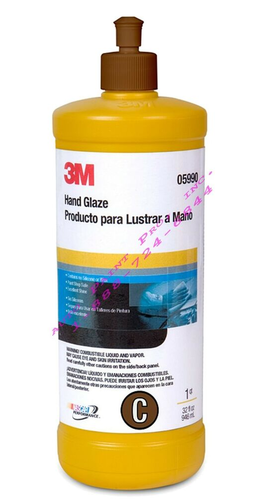 3m5990 imperial hand glaze 1 quart car paint auto body for Automotive paint suppliers