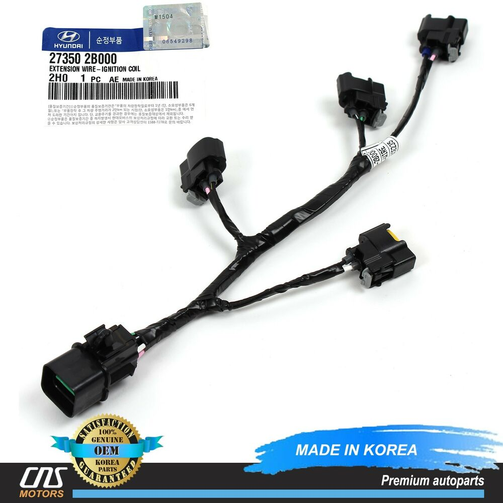 s l1000 genuine ignition coil wire harness fits 10 14 veloster rio soul  at bayanpartner.co