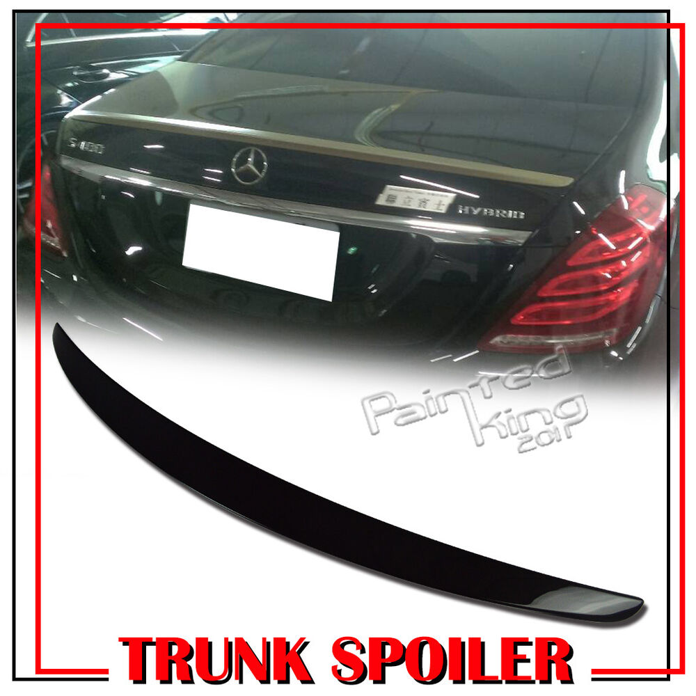 Painted Mercedes Benz W222 S Class Oe Type Rear Trunk