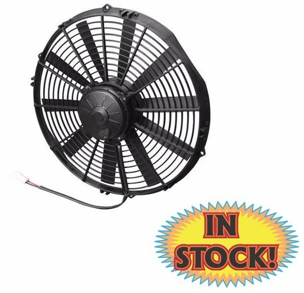 2000 Cfm Fan : Spal electric cooling fan quot pusher with straight blades