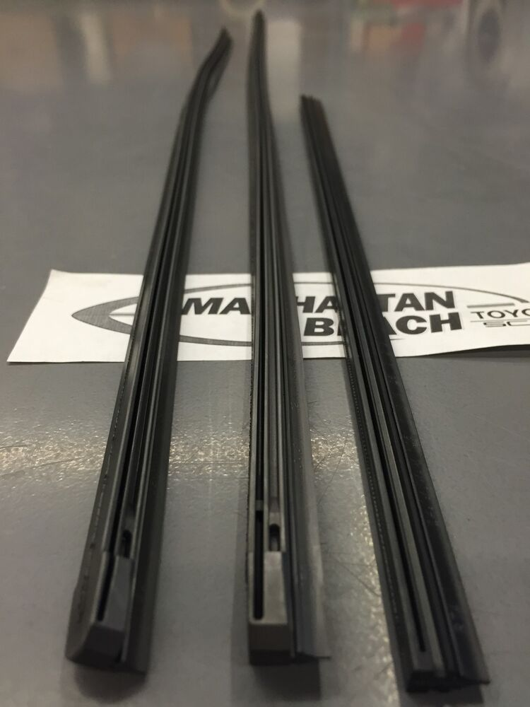 2012 2013 Highlander Amp Hybrid Front And Rear Wiper Inserts