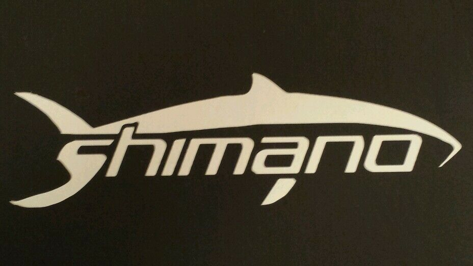Shimano decal ebay for Free fishing decals