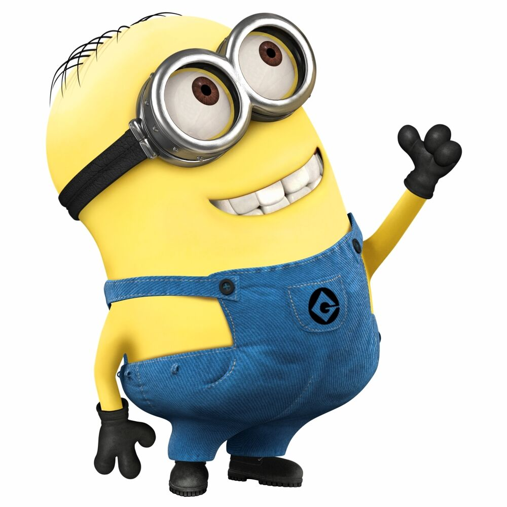 WALL STICKERS MINIONS Despicable Me 2 sticker kids ...
