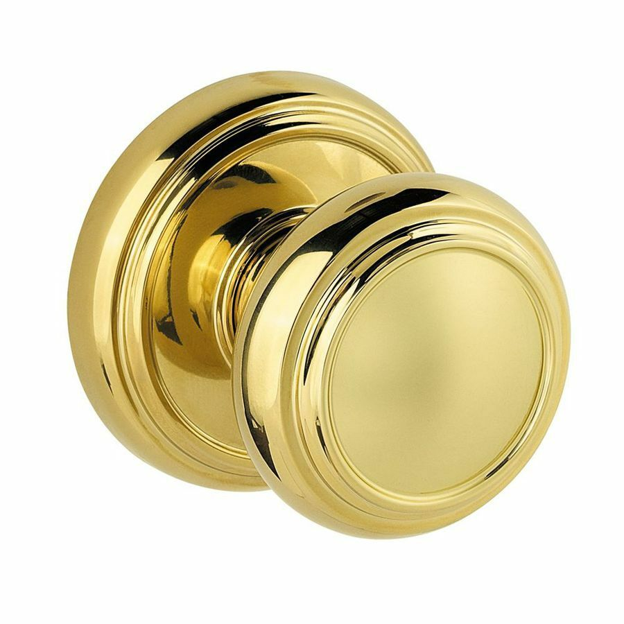 Polished Brass Dummy Door Knob Prestige Series Ebay
