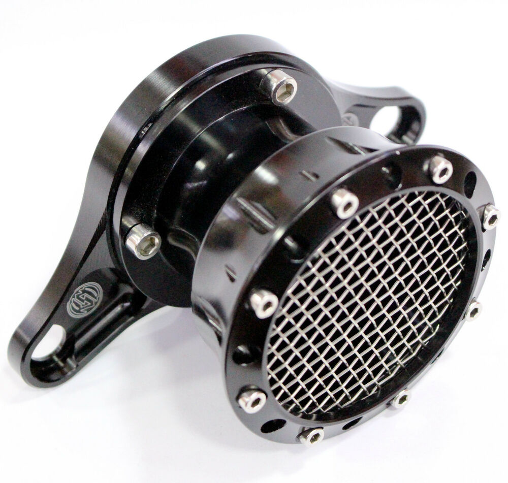 Volocity Stacks Chopper Air Cleaner : Cnc black velocity stack for harley sportster xl