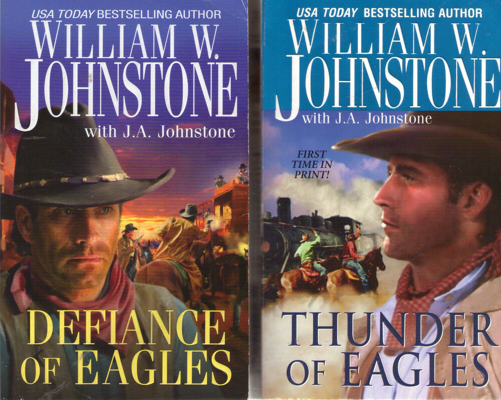 LOT OF WILLIAM JOHNSTONE ASHES BOOKS VINTAGE 80S VENGEANCE ALONE BLOOD WIND IN