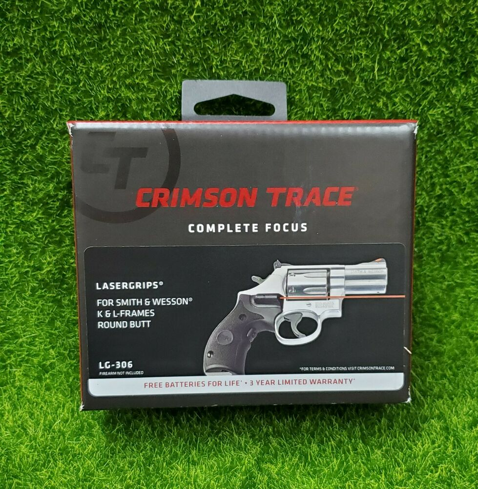 Glasses Frame Grips : Crimson Trace Red Lasergrips for Smith & Wesson K & L ...
