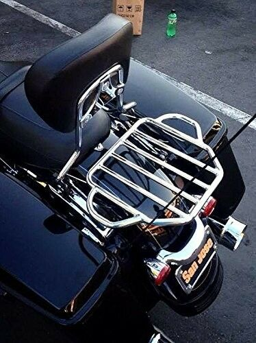 Detachable Two Up Tour Pak Luggage Rack For Harley
