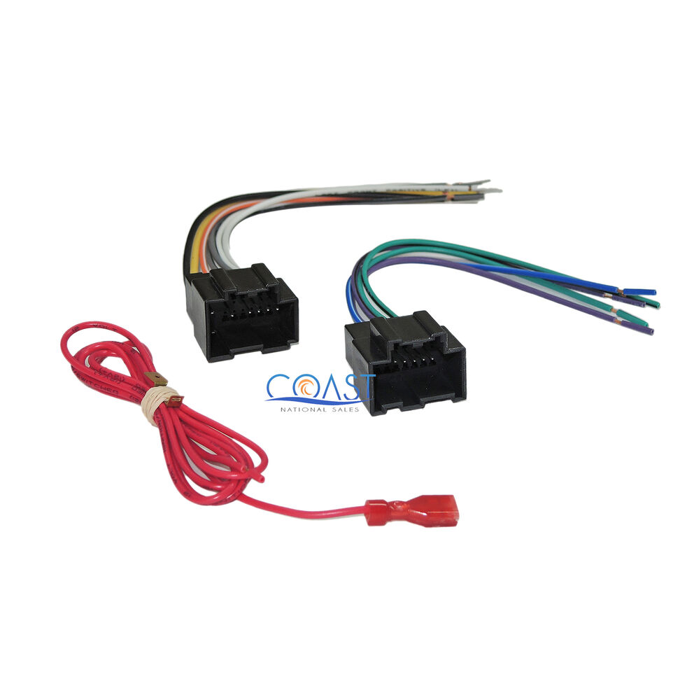 Aftermarket Radio Harness for 2006 2008 GM Vehicles W