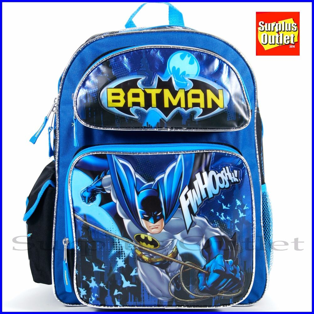 f659d8d97d51 Details about Batman Backpack 16