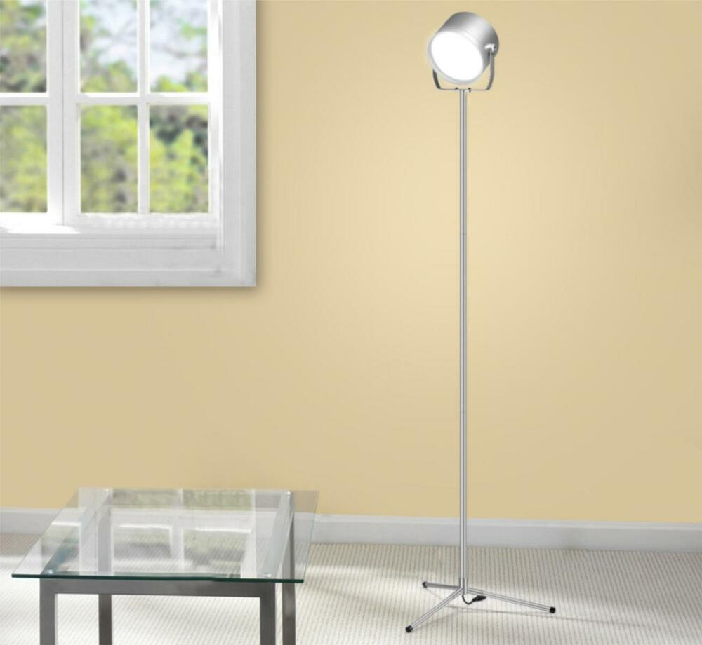 Modern minimalist adjustable touch panel control floor for Touch floor reading lamp