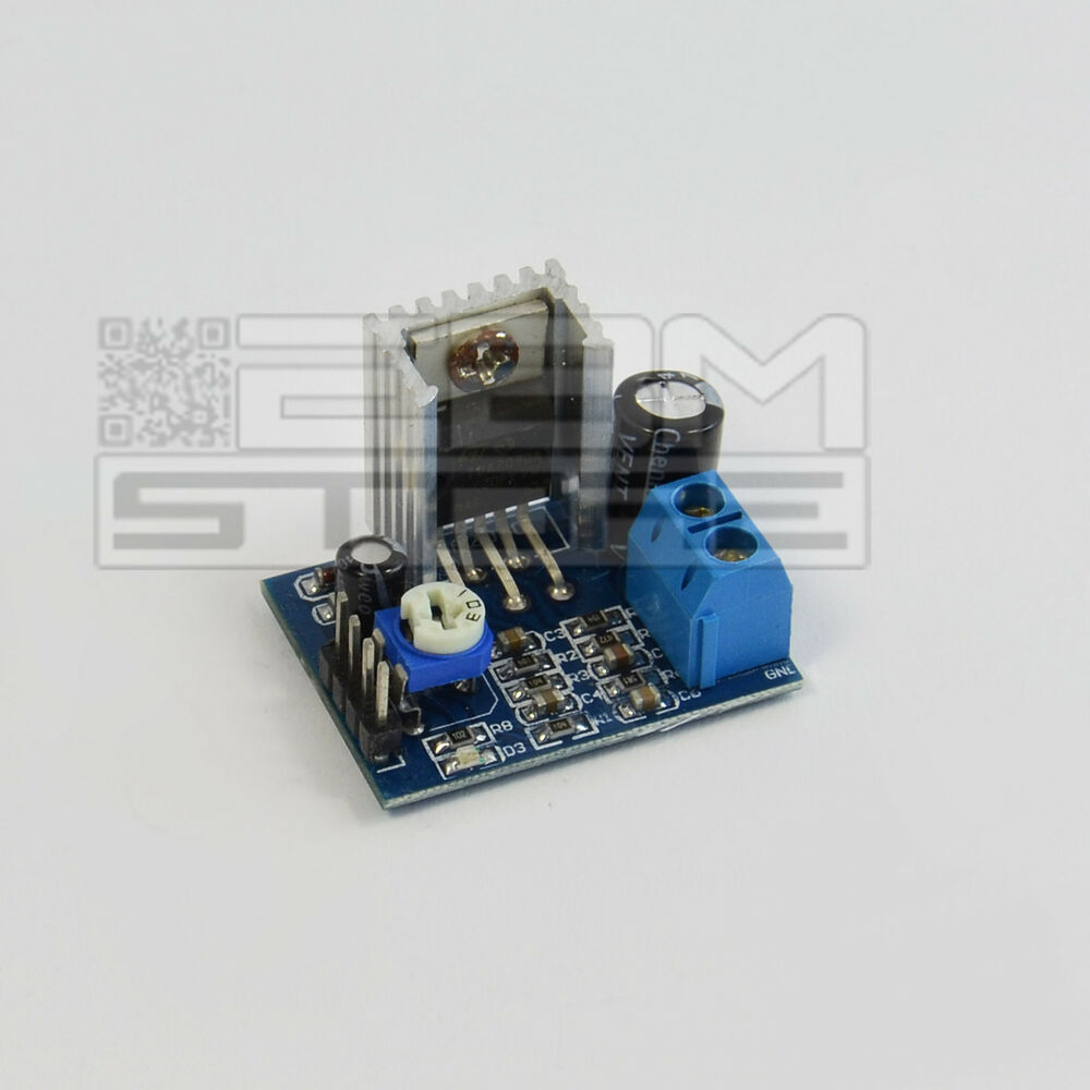 Modulo Tda2030 Amplificatore Audio Mono 18w Arduino Pic Art Tda2030av Integrated Circuit Cr08 Ebay