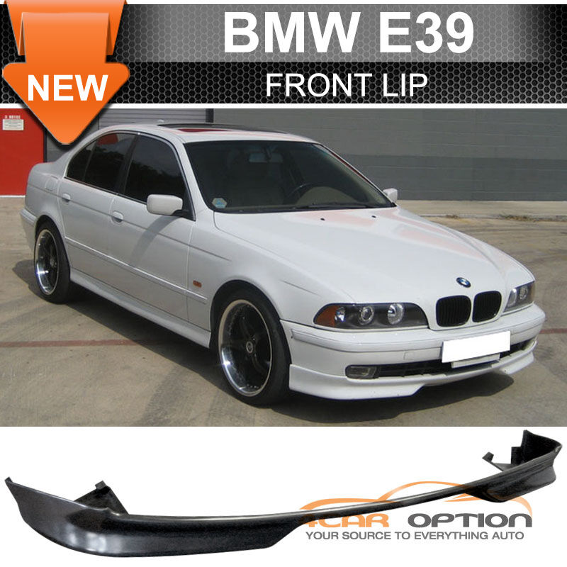 97 00 bmw e39 5 series 528i 540i mtec pu front bumper lip. Black Bedroom Furniture Sets. Home Design Ideas