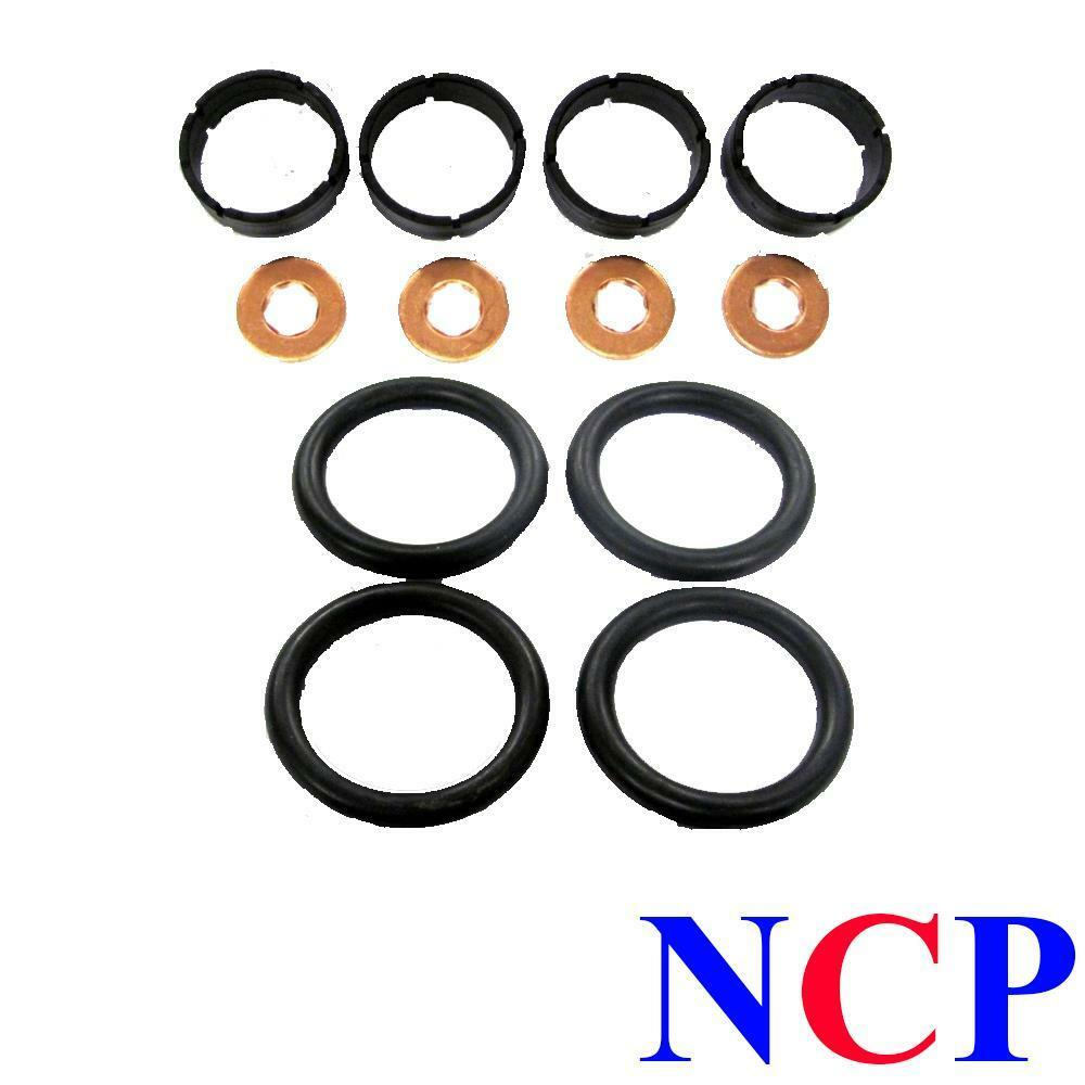 peugeot 107 206 207 307 1007 1 4 hdi injector seal buissons rondelles x 4 ebay. Black Bedroom Furniture Sets. Home Design Ideas