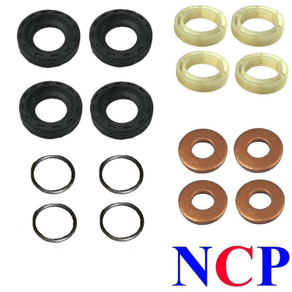 ford fiesta focus c max fusion 1 6 tdci dv6 injector seals washers rings kit ebay. Black Bedroom Furniture Sets. Home Design Ideas
