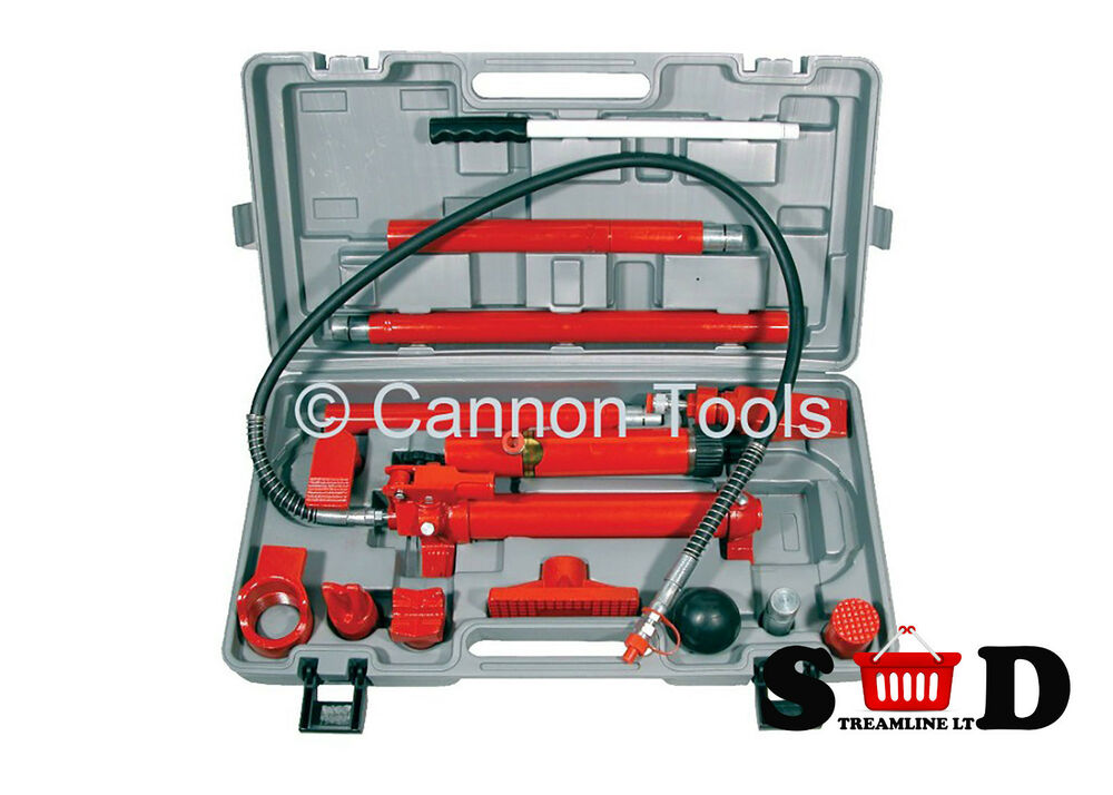 10 ton motor vehicle car body frame portable hydraulic for Motor vehicle body repair