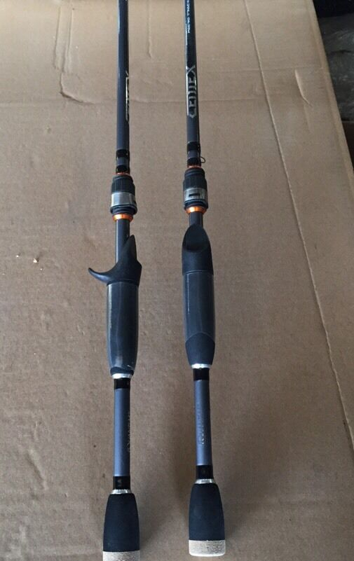 2 quantum centex micro guide bass casting rods 6 39 6 for Quantum fishing rods