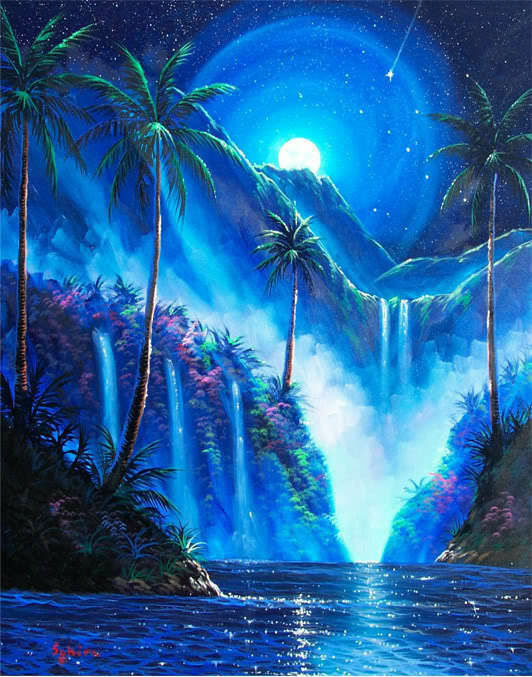 Cool Acrylic Paintings On Canvas