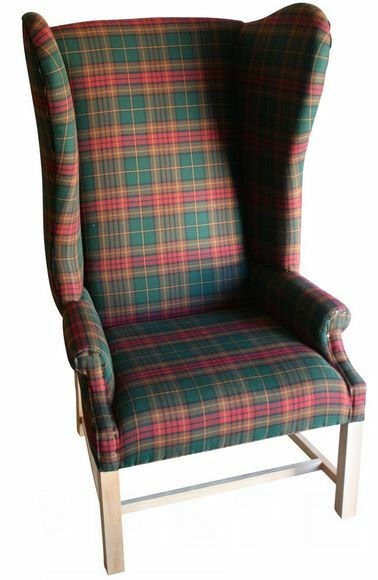 Plaid Armchair | eBay