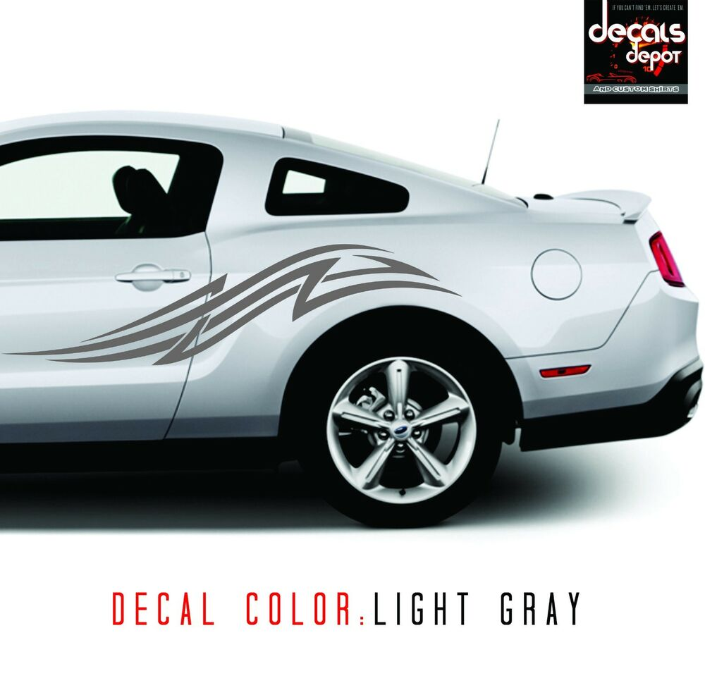 Tribal Art Decal Fits Ford Mustang Shelby Gt V6 Ecoboost