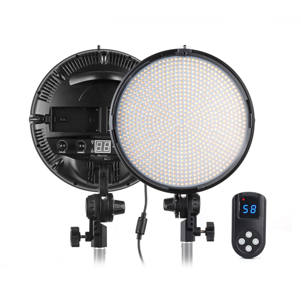 Led Studio Light Repair: FST 800PCS LED Video Studio Light Kit Dual Color