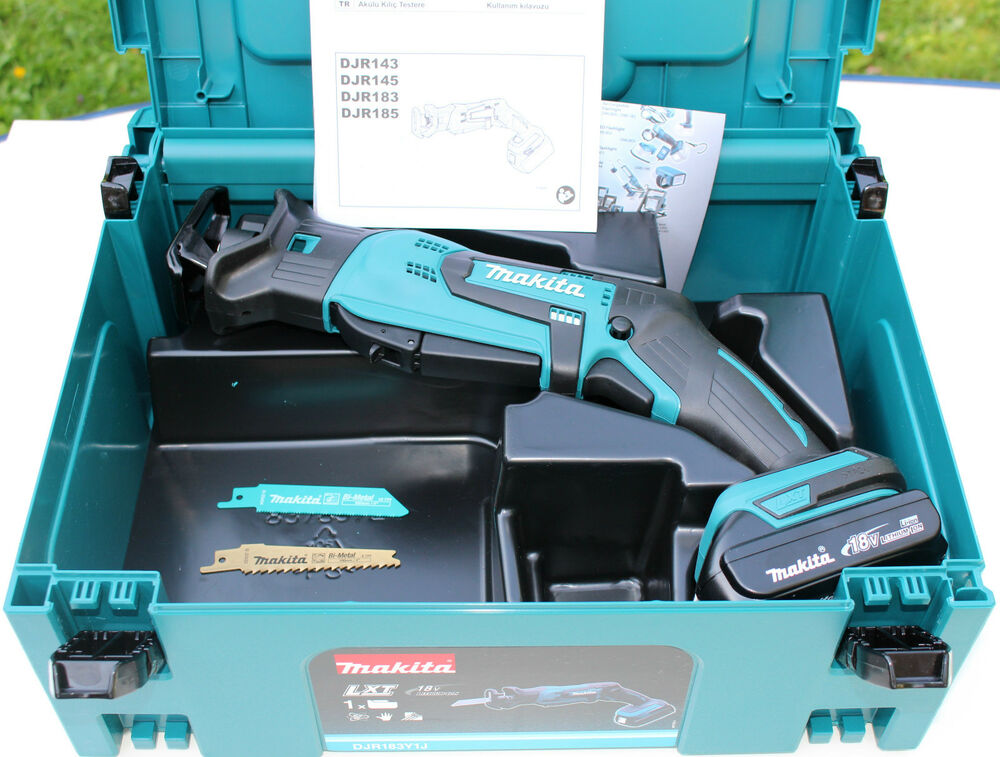 makita djr183y1j akku recipros ge 18v djr183 sologer t 1xakku 18v 1 5ah ebay. Black Bedroom Furniture Sets. Home Design Ideas