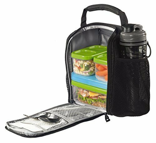 lunch bag box medium food storage insulate container