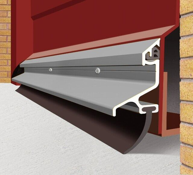 Garex Garage Door Weather Seal Draught Excluder Water Drip