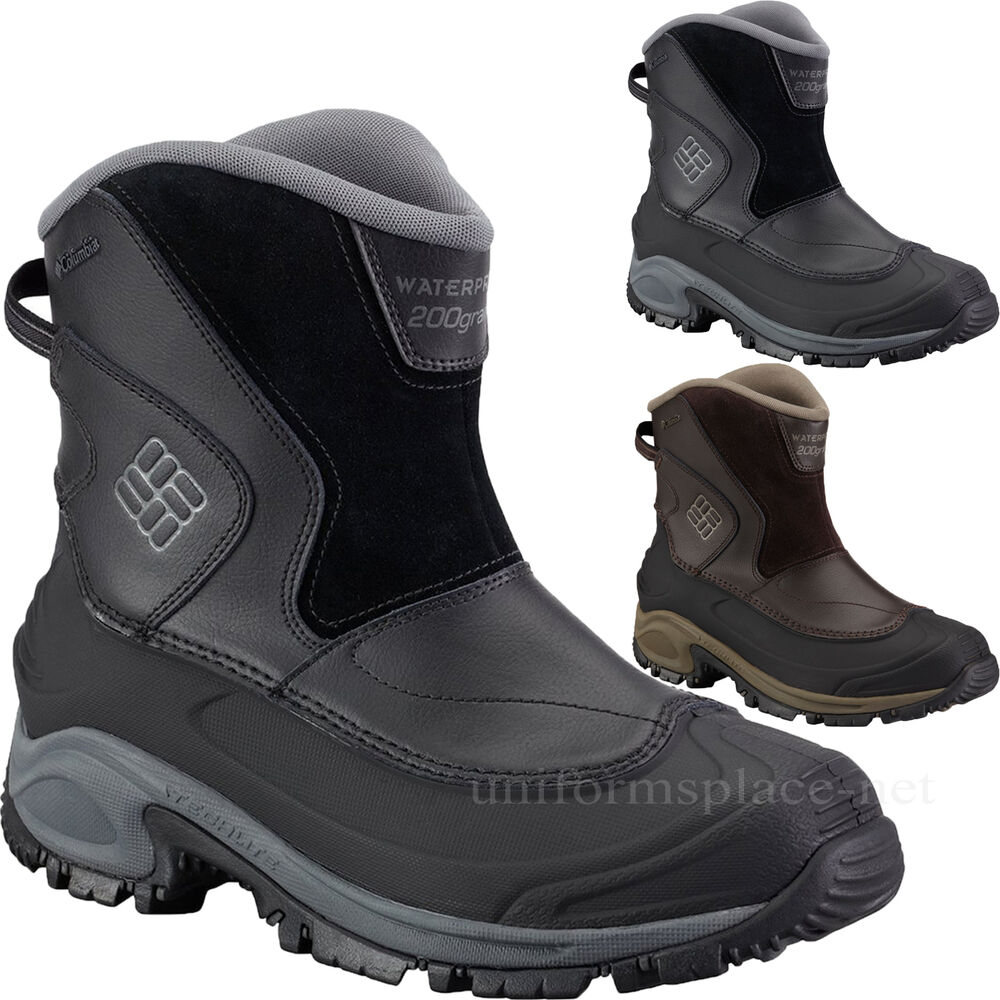 Columbia Boots Mens Bugaboot Slip-on Waterproof Pull-on