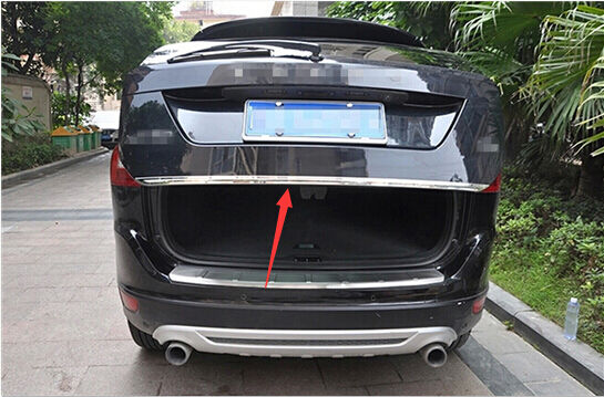 Stainless Rear Tailgate Door Trunk Lid Cover Trim 1pcs for VOLVO XC60 2009-2015 | eBay