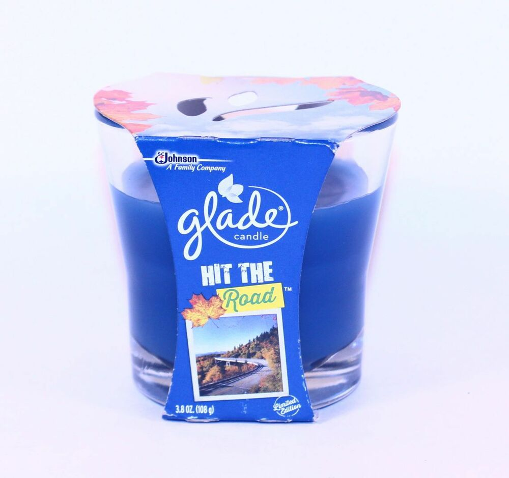 1 glade hit the road scented 1 wick filled candle 3 8 oz for What are the best scented candles to buy