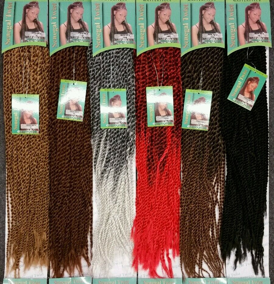 Quality Crochet Hair : ... SENEGAL TWIST 24 HAIR FOR CROCHET BRAID BRAND NEW BEST QUALITY eBay