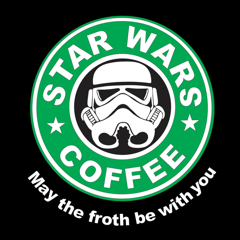 May The 4th Be With You Deals: StarWars Coffee May The Froth Be With You Starbucks Mens